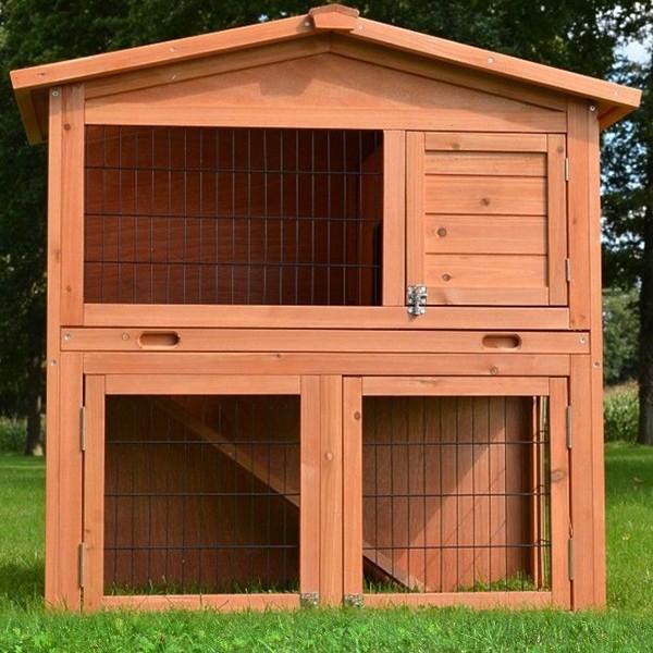 2-stöckiger Kaninchenstall von zooprimus