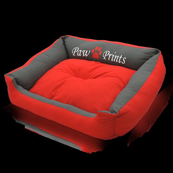 Zooprimus Hundekörbchen in einem knalligen Rot