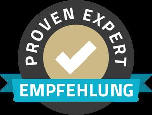 Verifizierte Kundenbewertungen dank ProvenExpert: Hier gelangen Sie zu den Erfahrungen & Bewertungen der Hubertus Bäumer GmbH