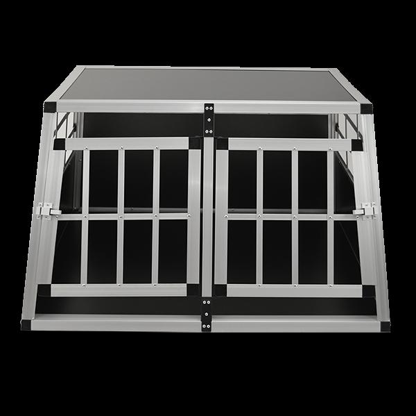 Sichere Zooprimus Transportbox Größe L für 2 Hunde