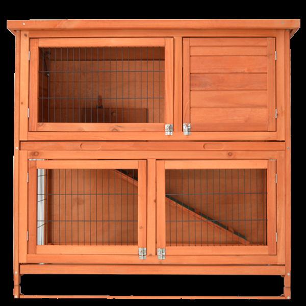 2-stöckiger Kaninchenstall von zooprimus Modell Mukkel XL