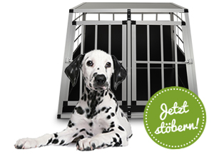 Hund auf Reisen - Transportboxen