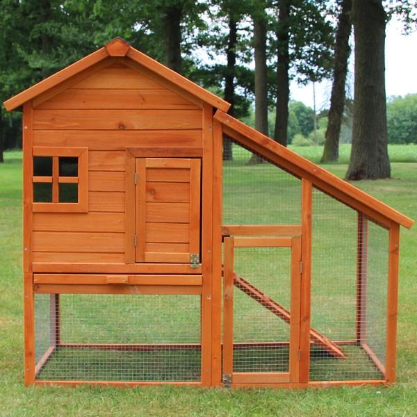 2-stöckiger Kaninchenstall von zooprimus Modell Bauernhaus